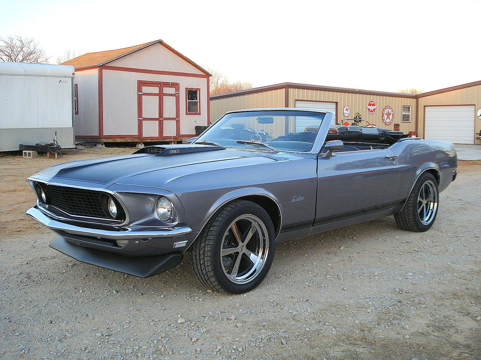 Custom Hot Rods 1969 Ford Mustang Conv...