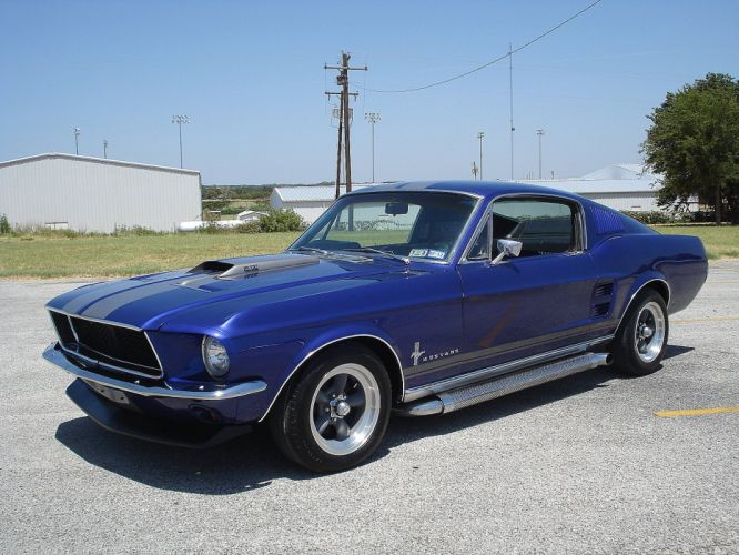 1967 Ford Mustang Coupe muscle classic hot rod rods ss wallpaper