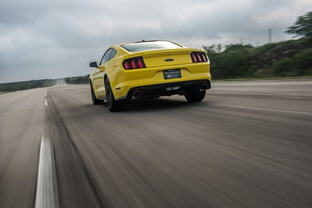 2015 Hennessey HPE 750 Ford Mustang cars coupe supercharger modified wallpaper