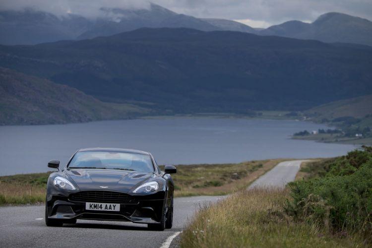 2015 Aston black carbon cars Martin vanquish wallpaper