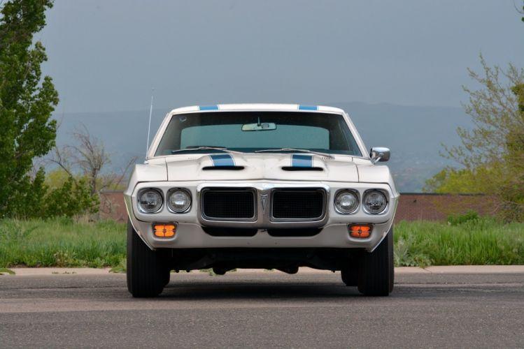 1969 Pontiac Firebird Trans Am Ram Air IV Coupe muscle classic cars wallpaper