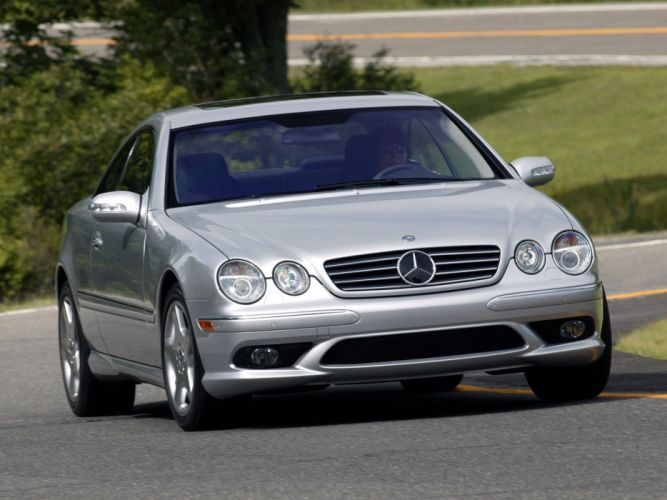 Mercedes Benz CL 500 US-spec C215 1999 coupe cars wallpaper