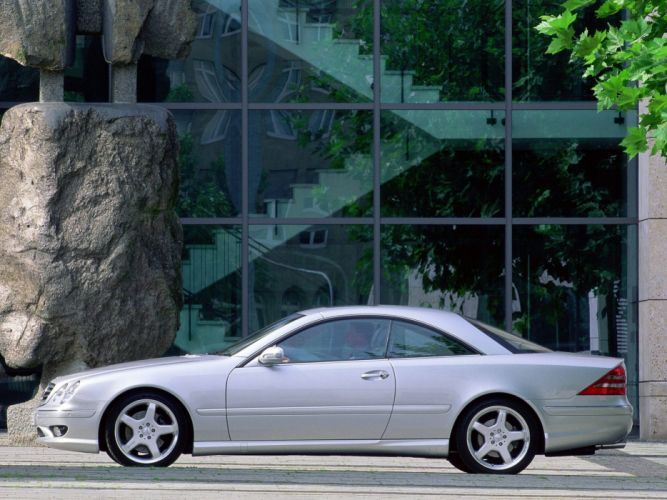 Mercedes Benz CL 55 AMG C215 2000 coupe cars wallpaper