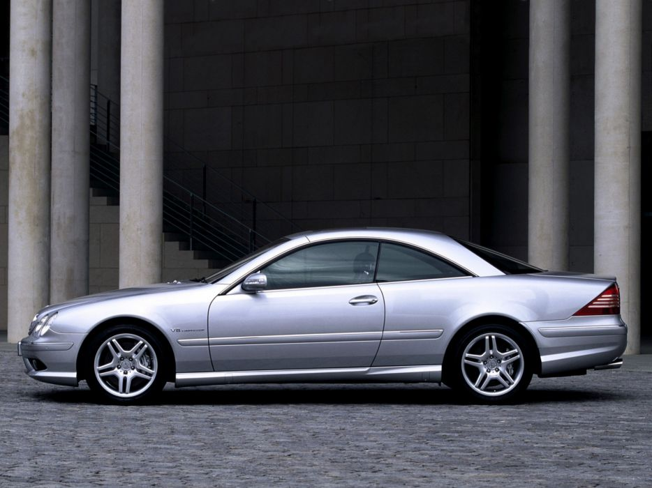 Mercedes Benz CL 55 AMG C215 2002 coupe cars wallpaper