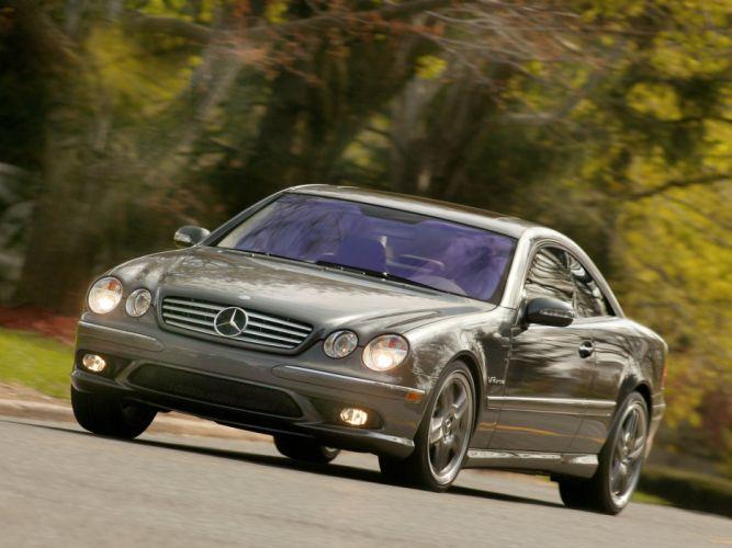 Mercedes Benz CL 65 AMG US-spec C215 2003 coupe cars wallpaper