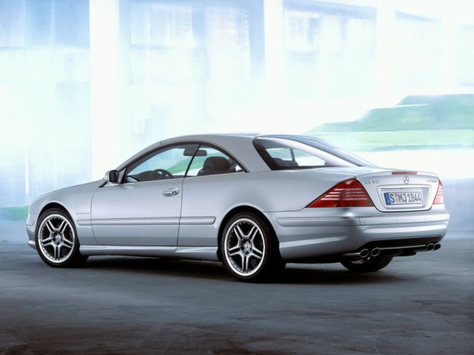 Mercedes Benz CL 65 AMG C215 2003 coupe cars wallpaper