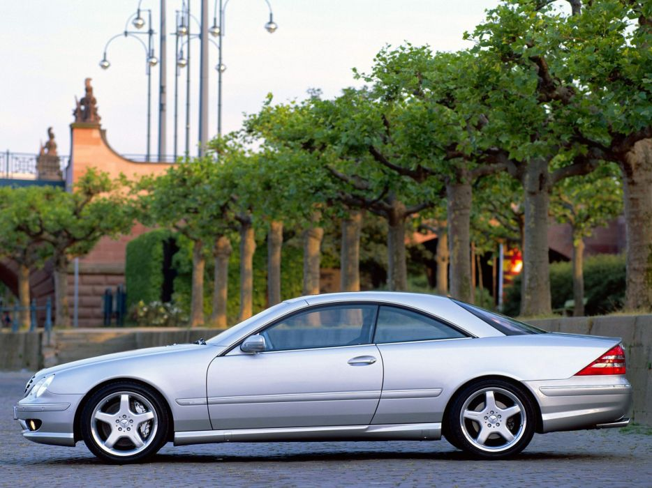 Mercedes Benz CL 55 AMG F1 Limited Edition C215 2000 coupe cars wallpaper