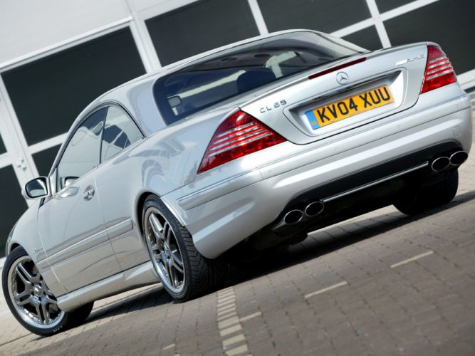 Mercedes Benz CL 65 AMG UK-spec C215 2003 coupe cars wallpaper