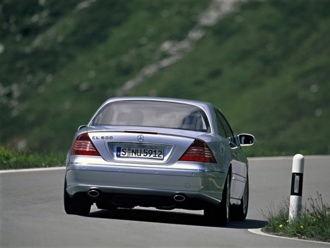 Mercedes Benz CL 600 C215 2002 coupe cars wallpaper