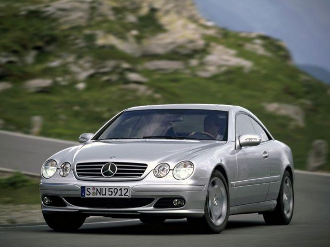 Mercedes Benz CL 600 C215 2002 coupe cars wallpaper