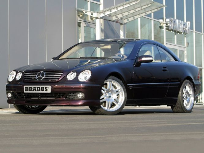 Brabus Mercedes Benz CL C215 2002 coupe cars modified wallpaper