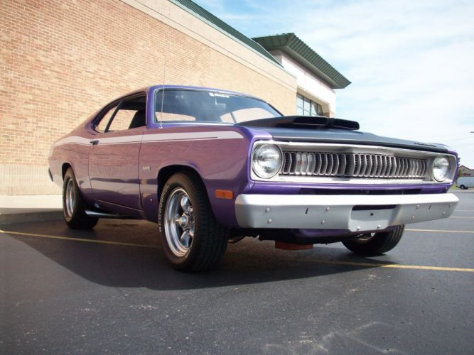 1972 PLYMOUTH DUSTER 340 muscle hot rod rods classic s wallpaper