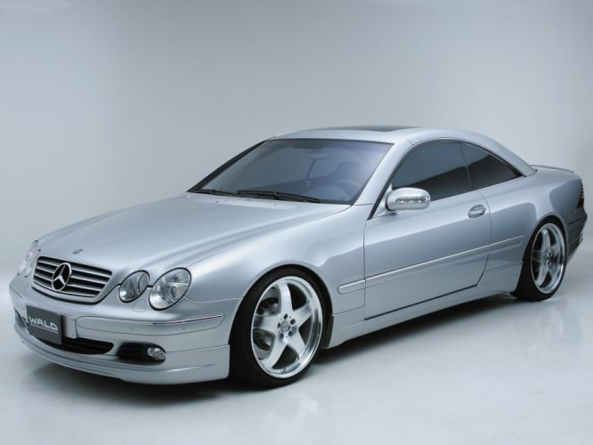 WALD Mercedes Benz CL cars coupe modified wallpaper