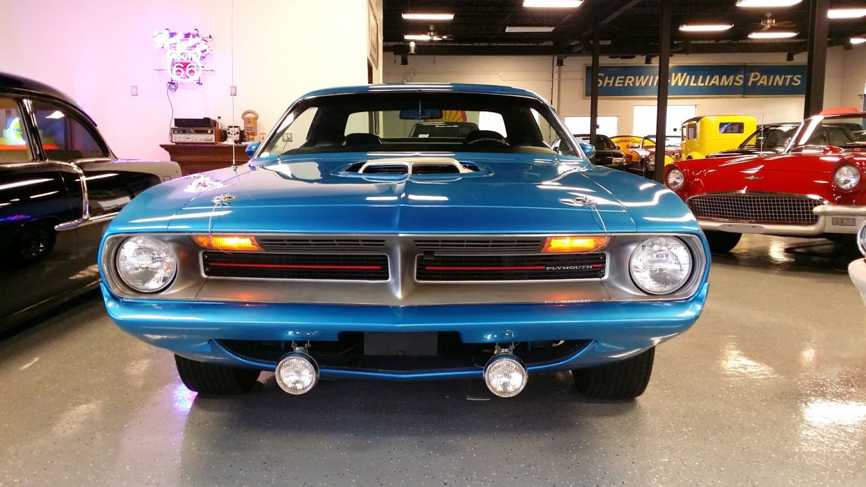 970 PLYMOUTH CUDA barracuda muscle 440 classic d wallpaper