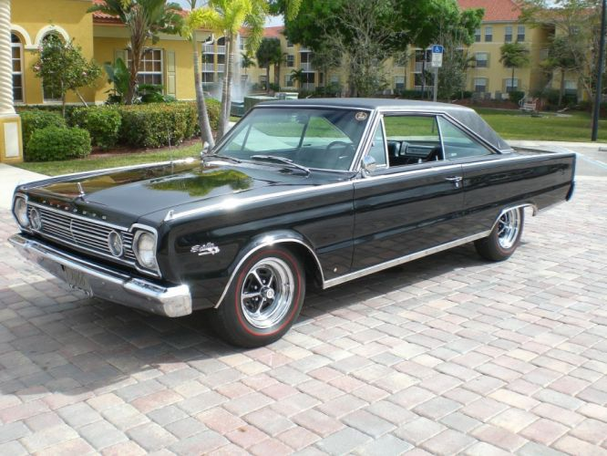 1966 Plymouth Satelite 440 muscle classic d wallpaper