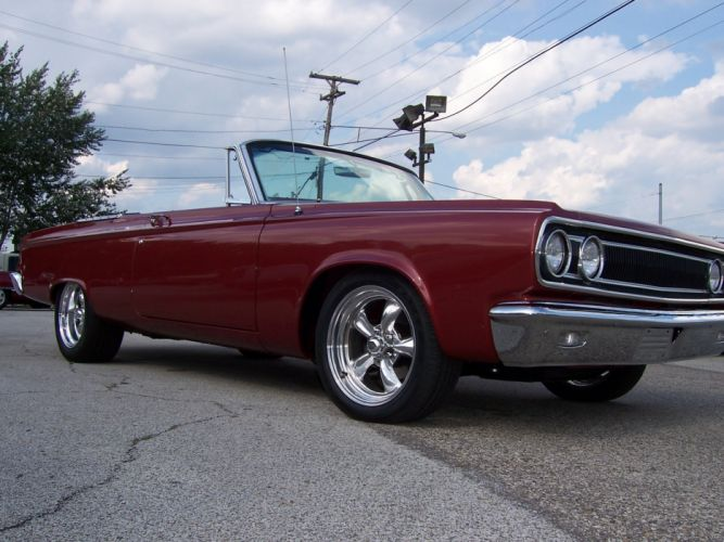 1965 Dodge Coronet 500 Convertible 426 hemi muscle classic hot rod rods f wallpaper