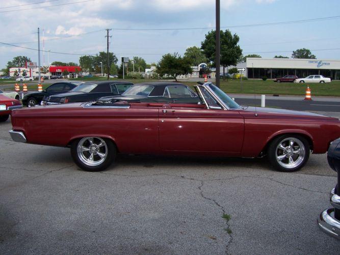 1965 Dodge Coronet 500 Convertible 426 hemi muscle classic hot rod rods f wallpaper