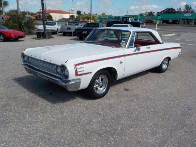1964 Dodge 440 muscle classic d wallpaper