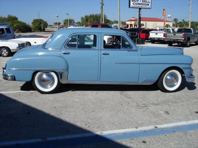 1950 Desoto Custom retro luxury d wallpaper