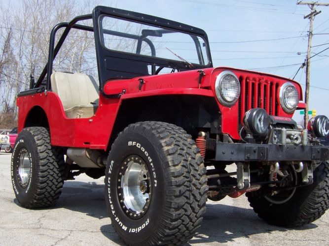 1946 Jeep Willys 4x4 suv retro custom d wallpaper