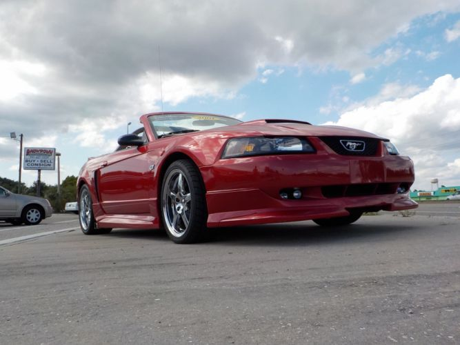 2001 Ford Mustang G-T Roush Stag- II muscle convertible d wallpaper