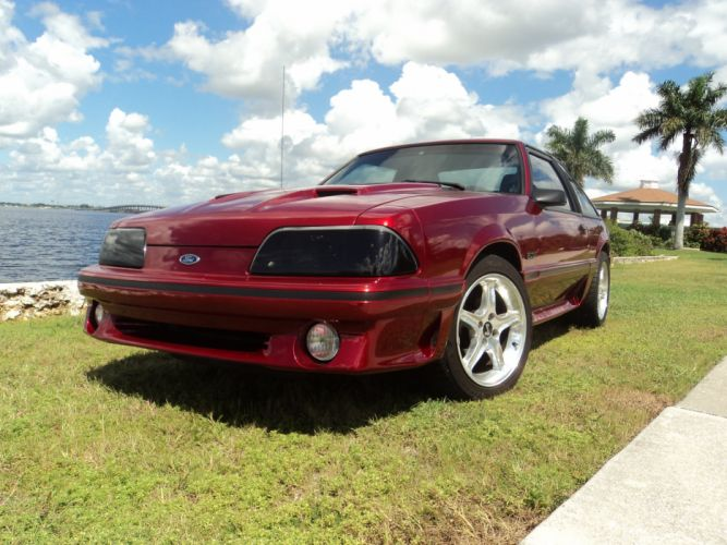 1989 Ford Mustang G-T muscle d wallpaper