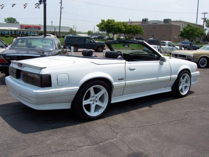 1988 ACS MCLAREN ford mustang muscle convertible d wallpaper