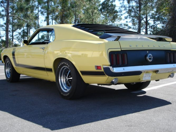 1970 Boss 302 Mustang ford muscle classic d wallpaper
