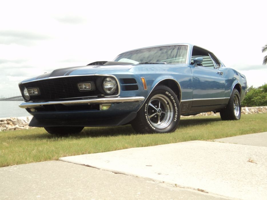 1970 Ford Mustang Mach-I Fastback muscle classic d wallpaper
