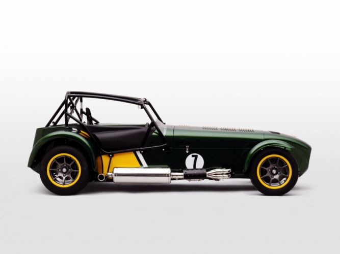Caterham Seven Superlight R500 Team Lotus Special Edition 2011 cars wallpaper