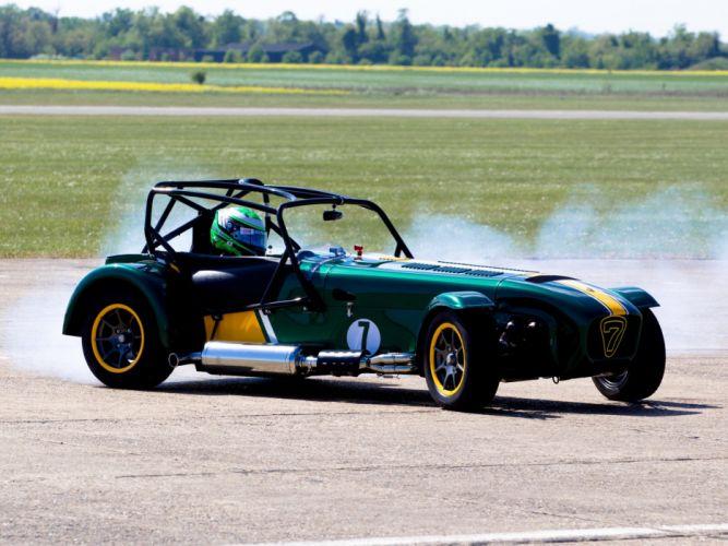 Caterham Seven Superlight R500 Team Lotus Special Edition 2011 cars wallpaper