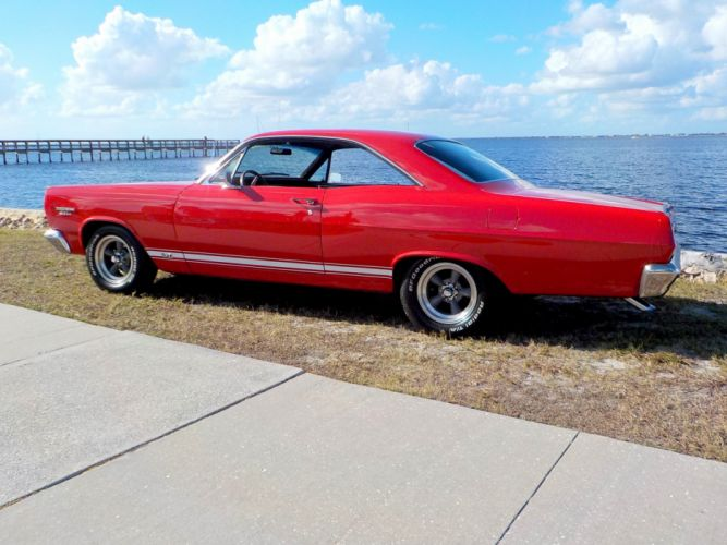 1967 Mercury Comet Cyclone G-T muscle classic f wallpaper