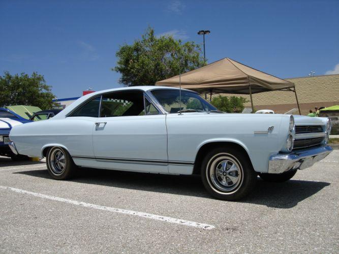 1966 Mercury Cyclone G-T muscle classic d wallpaper