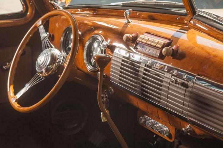 1949 Chevrolet 3100 Suburban Hot Rod Custom Old School USA -03 wallpaper