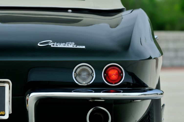 1965 Chevrolet Corvette Stingray Ating Ray Muscle Convertible Classic Old Original USA -23 wallpaper