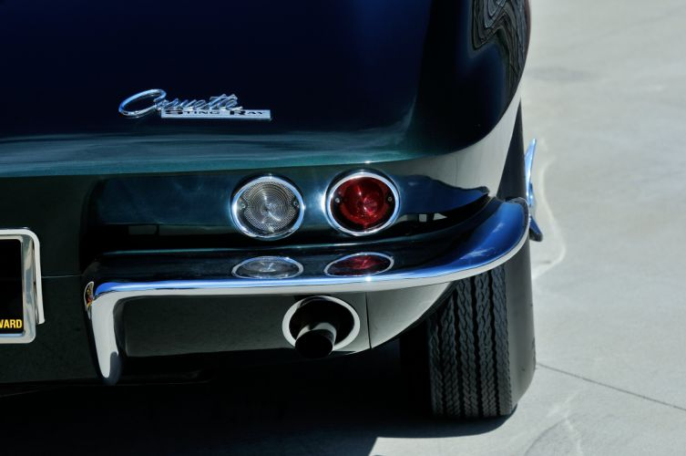 1965 Chevrolet Corvette Stingray Ating Ray Muscle Convertible Classic Old Original USA -35 wallpaper