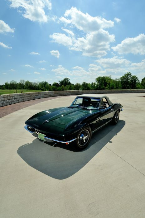 1965 Chevrolet Corvette Stingray Ating Ray Muscle Convertible Classic Old Original USA -41 wallpaper