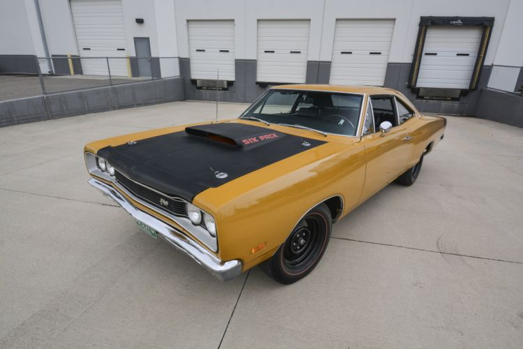 1969 Dodge Supe Bee 440 Six Pack Muscle Classic Old Original USA -01 wallpaper