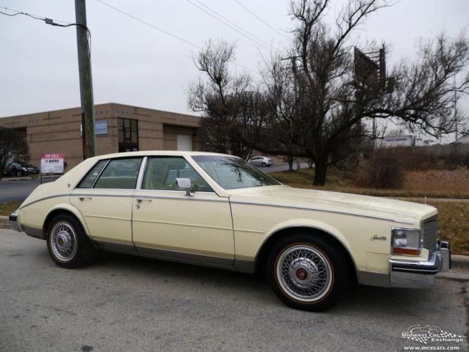 1984 Cadillac Seville Sedan Classic Old USA -01 wallpaper