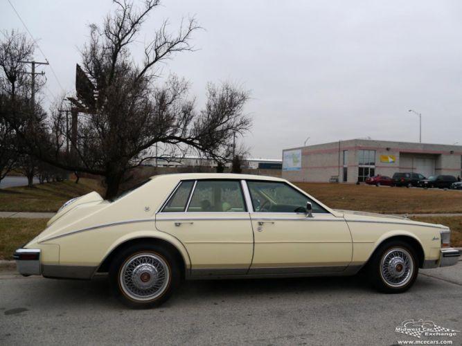 1984 Cadillac Seville Sedan Classic Old USA -04 wallpaper