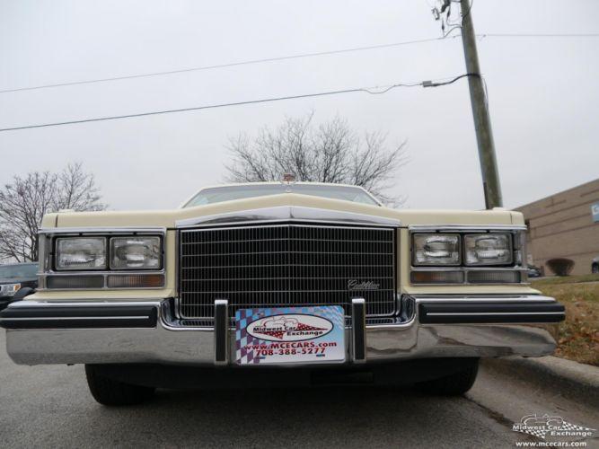 1984 Cadillac Seville Sedan Classic Old USA -07 wallpaper