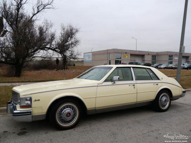 1984 Cadillac Seville Sedan Classic Old USA -08 wallpaper