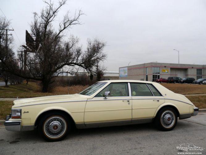 1984 Cadillac Seville Sedan Classic Old USA -09 wallpaper