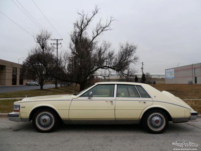1984 Cadillac Seville Sedan Classic Old USA -10 wallpaper