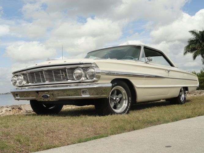 1964 Galaxie 500 muscle classic d wallpaper