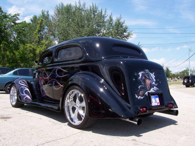 1936 Ford Coupe Streetrod hot rod rods retro custom d wallpaper
