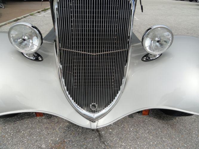 1933 Ford Tudor Sedan custom hot rod rods retro vintage d wallpaper