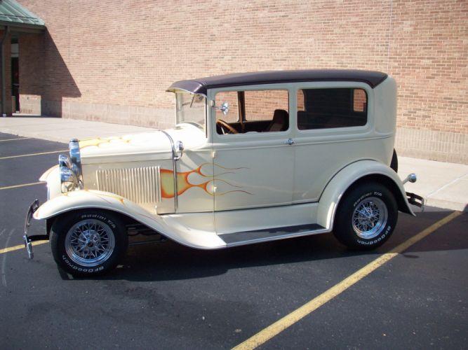 1931 FORD MODEL-A custom hot rod rods retro vintage d wallpaper