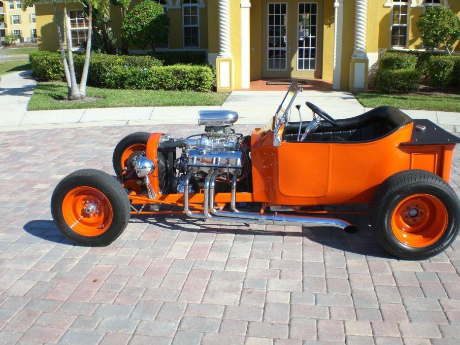 1923 FORD T-BUCKET custom hot rod rods retro vintage d wallpaper