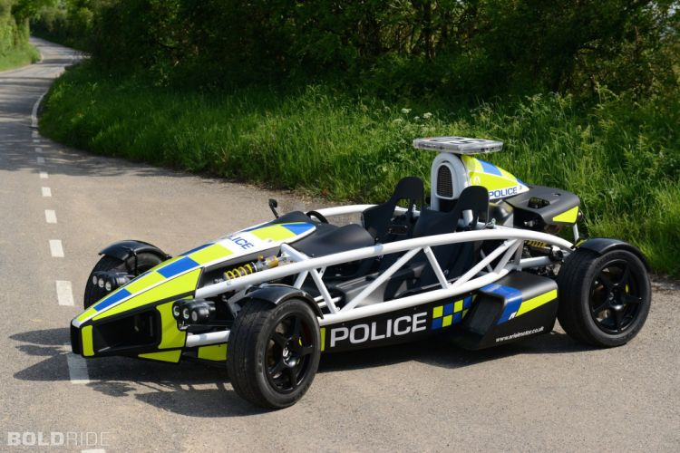 2009 Ariel Atom-3 Supercharged cars police wallpaper